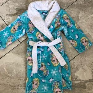 Disney's Frozen Elsa Girls 4  Robe